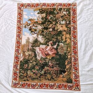 Needlepoint Victorian Wall Hanging